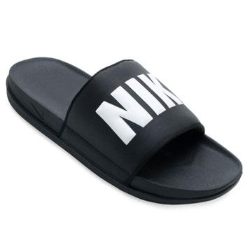 Chinelo Nike Offcourt Slide NK21 Preto-Branco TAM 44 ao 48