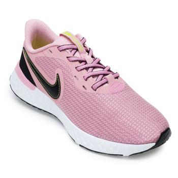 Tênis Nike Revolution 5 NK21 Rosa-Preto