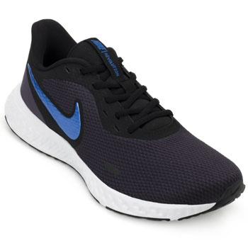 Tênis Nike Revolution 5 NK19 Marinho-Preto