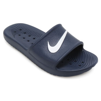 Chinelo Nike Kawa Shower Marinho-Branco TAM 44 ao 48