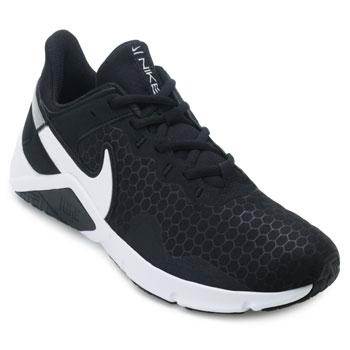 Tênis Nike Legend Essential 2 NK21 Preto-Branco-Prata