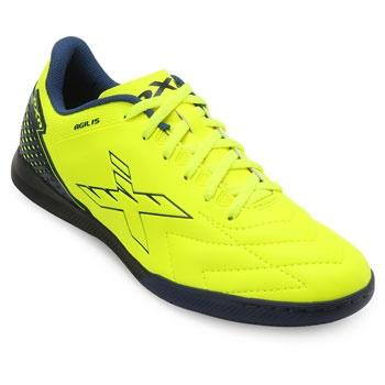 Chuteira Futsal OXN Agilis CO OX19Indoor Verde-Marinho