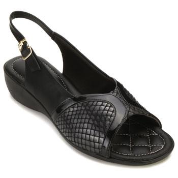 Sapato Piccadilly 416050 Napa-Verniz-Preto