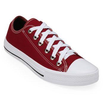 Tênis Pro Feet PF19-3600FL Lona Vermelho