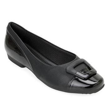 Sapato Comfort Piccadilly PD20-251073 Preto TAM 40 ao 44
