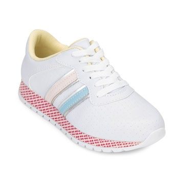 Tênis Jogging Pink Cats Juvenil PC19-V0813-Branco