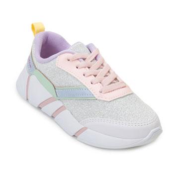 Tênis Chunky Pink Cats Juvenil PC20-V1481 Branco-Rosa-Verde