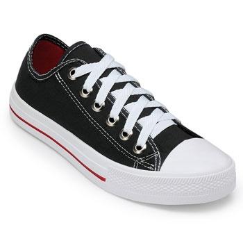 Tênis Pro Feet PF19-3600FL Lona Preto