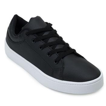 Tênis Casual Pro Feet PF21-TF001 Preto-Branco