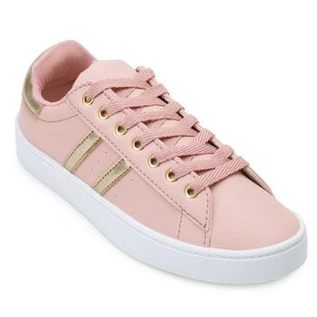 Tênis Casual Pro Feet PF21-TF010 Rose-Dourado