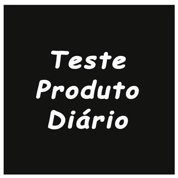 Produto Teste Diário Preto