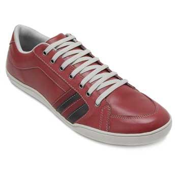 Sapatênis Pro Mais Masculino 001041 Vermelho-Preto-Vermelho TAM 45 ao 48