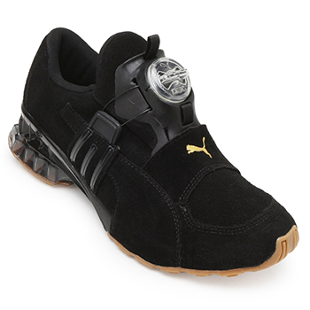 234c111ac47 Tênis Puma Disc Cell Aether PM19-19284201 Preto-Dourado ...