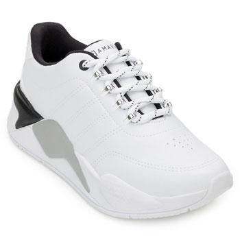 Tênis Dad Sneaker Ramarim e Meia RM20-2072204 Branco-Preto