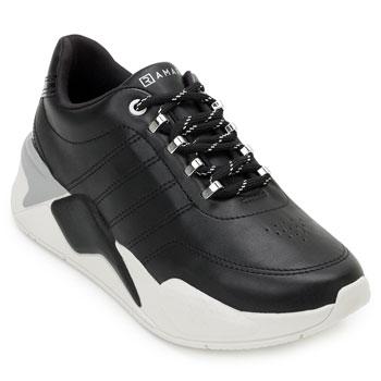 Tênis Dad Sneaker Ramarim  e Meia RM20-2072204 Preto-Branco