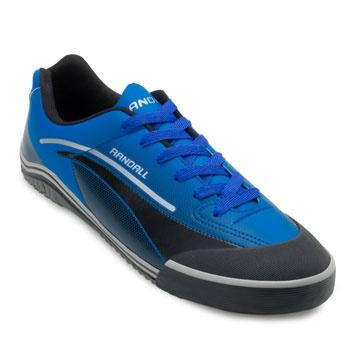 Chuteira Futsal Randall Atlanta AD RL19 Azul-Preto TAM 44 ao 48