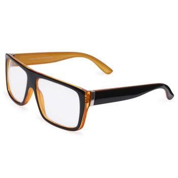 Óculos Ray Flector 1080 Caramelo-Preto
