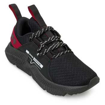 Tênis Running Run Velox RO20-L046 Preto-Vermelho