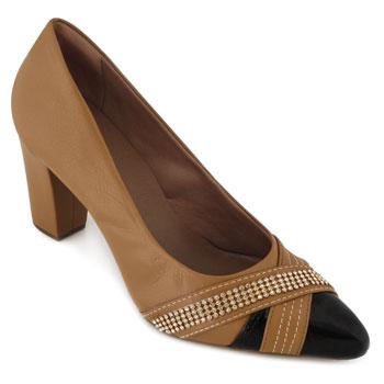 Sapato Sense AF18-183544 Pele-Ambar TAM 40 ao 44
