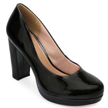 Sapato Meia Pata Sense Bella SB21-1290143VZ Preto TAM 40 ao 44