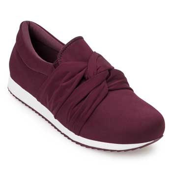 Slip On Sense Flex AN20-124735 Bordo TAM 40 ao 44