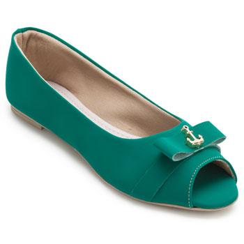 Peep Toe Sense Miss ML20-412 Verde