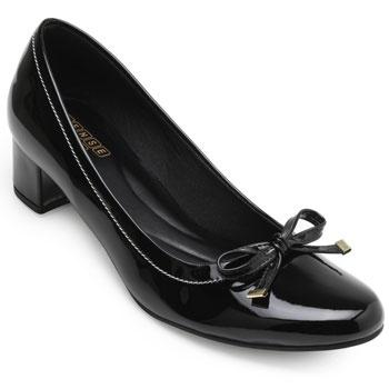 Sapato Sense Rio Laço ZA19-2006 Preto TAM 40 ao 44