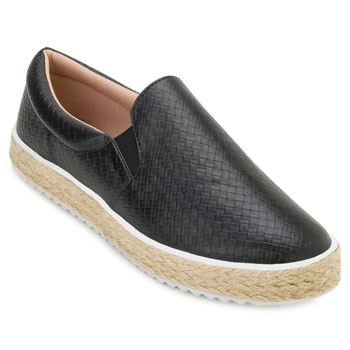 Slip On Furadinho Sense Way GB19-1056 Preto TAM 40 ao 44