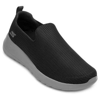 Tênis Iate Skechers Go Walk Max SK20-54600 Preto-Cinza TAM 44 ao 48