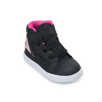 Tênis Slink Baby Estrela SN20-B50374 Preto-Pink