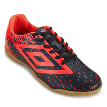 Chuteira Futsal Umbro Acid UB18 Marinho-Coral