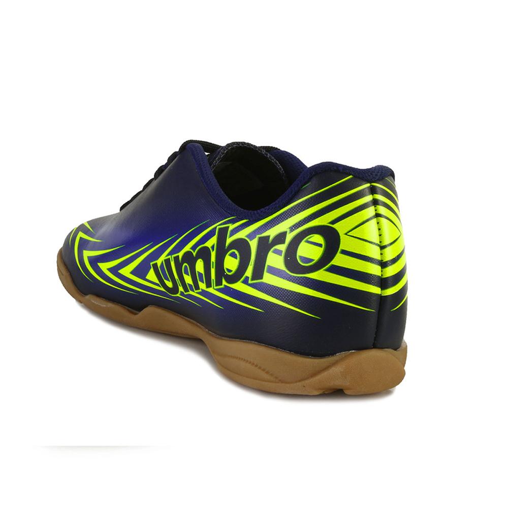 ae4b747063 ... Chuteira Futsal Umbro Speed III UB18 Marinho-Azul-Limão