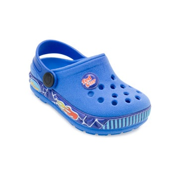 Chinelo Babuche Ted Car Baby TC19-1750 Azul