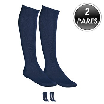 Kit 2 Pares Meião Esportivo Top Fill TF19 Azul