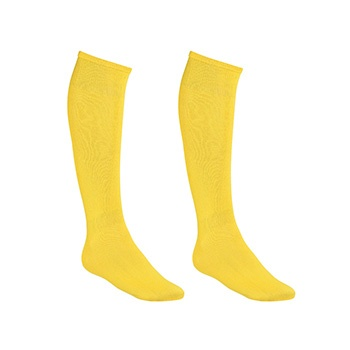Meião Esportivo Top Fill KIT c-2 TF19 Amarelo