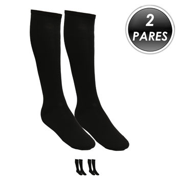 Kit 2 Pares Meião Esportivo Top Fill TF19 Preto