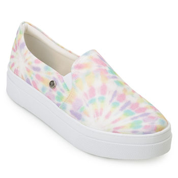 Slip On Tie Dye Via Uno VU20-488003 Rosa-Lilás