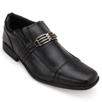 Sapato West Line Masculino 5300 Preto-Preto TAM 44 ao 50