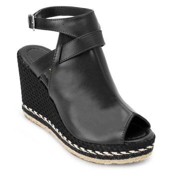 Sandália Open Boot Yellow YL20-2040 Preto