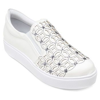 Slip On Sense Flex AN19-313928 Branco