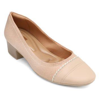 Sapato Comfortflex CF19-1986302 Nude TAM 40 ao 44