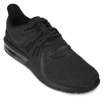 Tênis Nike Air Max Sequent 3 NK18 Preto