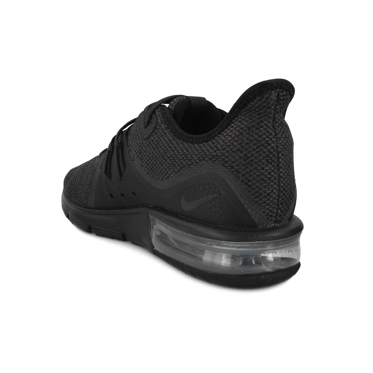 acab372d5 ... Tênis Nike Air Max Sequent 3 NK18 Preto