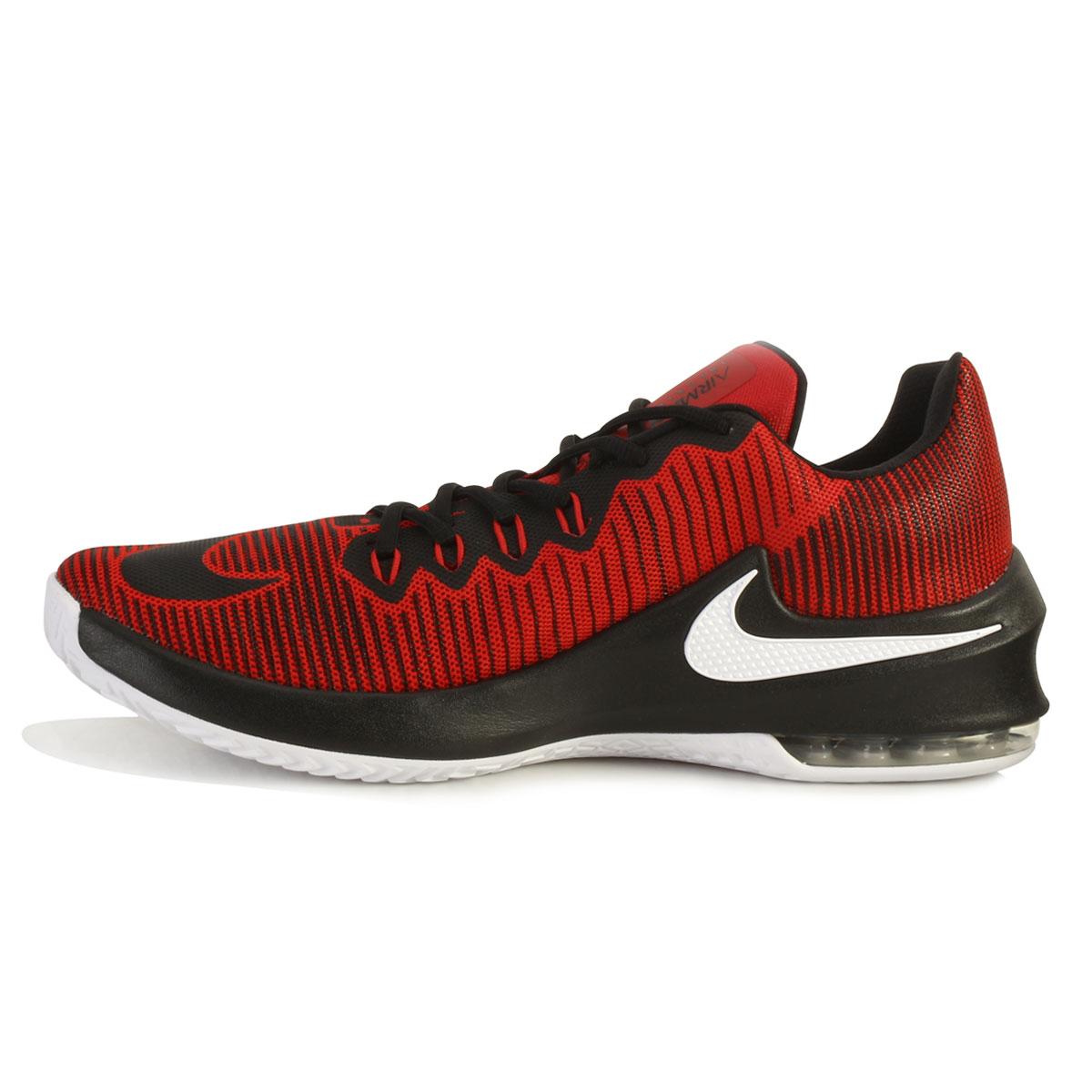 9d6d1b288c ... Tênis Nike Air Max Infuriate 2 Low NK18 Vermelho-Preto-Branco TAM 44 ao  ...