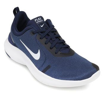 Tênis Nike Flex Experience RN 8 NK19 Marinho-Branco