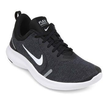 Tênis Nike Flex Experience RN 8 NK19 Preto-Branco