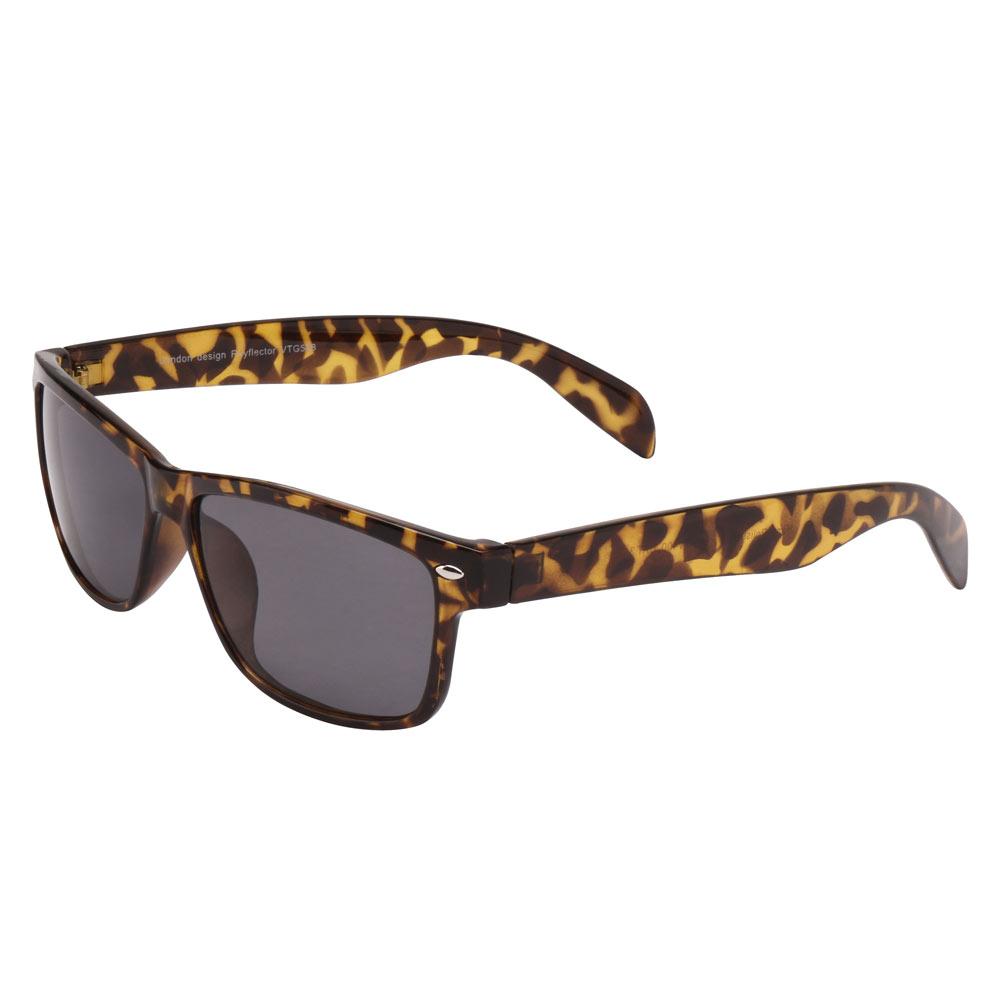 8e04f4f5a1f0c Óculos Ray Flector VTG588 Caramelo-Preto