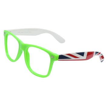 Armação de Óculos Ray Flector W2164 Verde-Branco