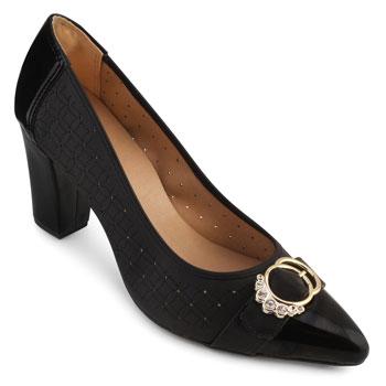 Sapato Sense AF18-183480 Gamboa Preto TAM 40 ao 44