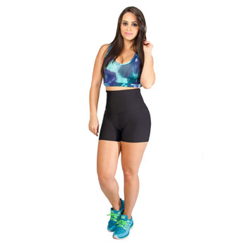 Shorts Shop Modas Feminino 210CO Preto TAM P ao GG